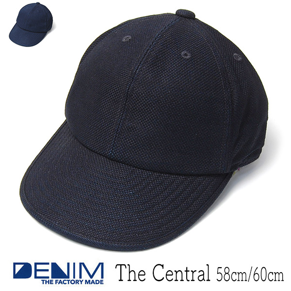 THE FACTORY MADE(ザファクトリーメイド) 刺し子キャップ The Central