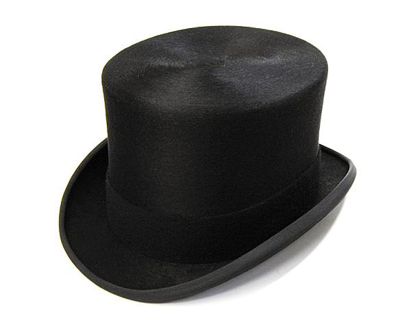 """イギリス王室御用達""""JamesLock(ジェームスロック)""""ファーベルベットトップハット[大きいサイズの帽子] 【コンビニ受取対応】 (kaw-jl-townshell2)"""