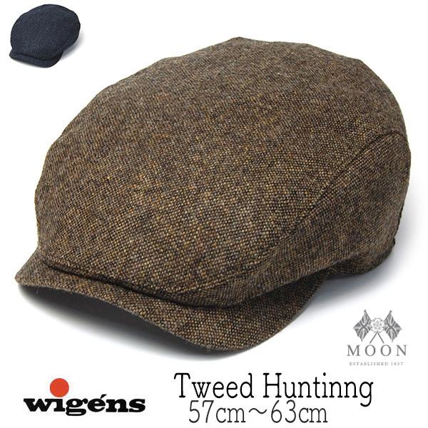 """WIGENS(ヴィーゲン)"" ツイードハンチング Ivy Contemporary Cap"