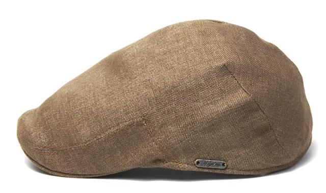WIGENS(ヴィーゲンス)リネンハンチングPUB CAP