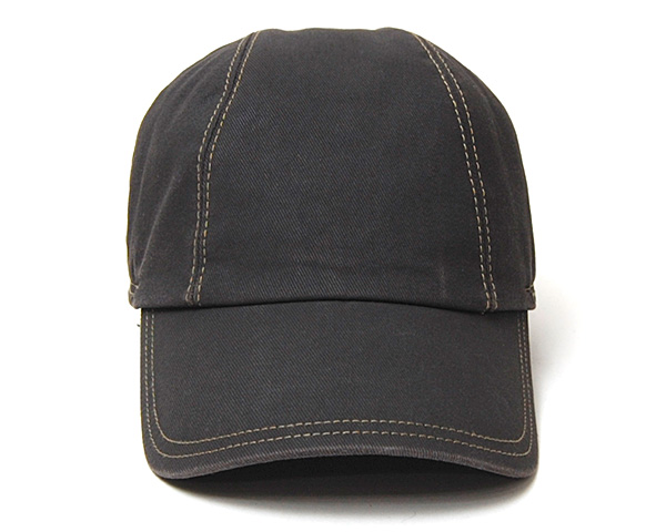 """WIGENS(ヴィーゲン)""耳当て付きコーティングコットンキャップ Baseball Cap"