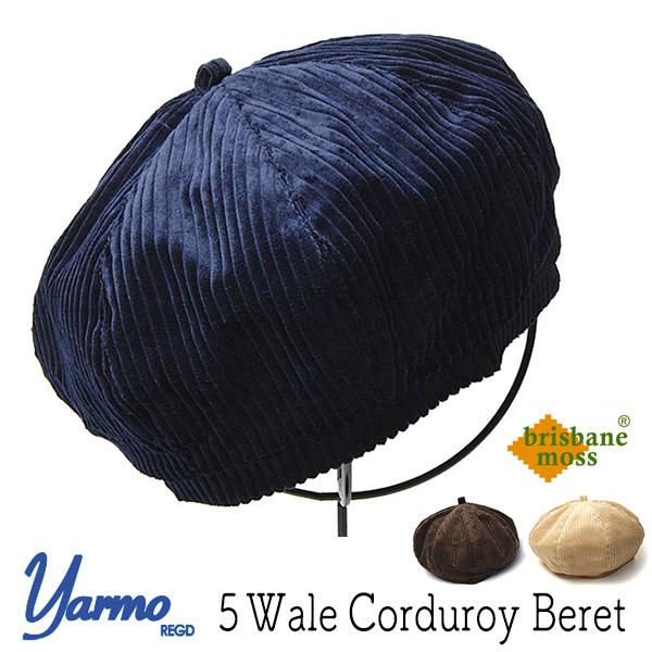 """""""Yarmo(ヤーモ)"""" コーデュロイベレー"""