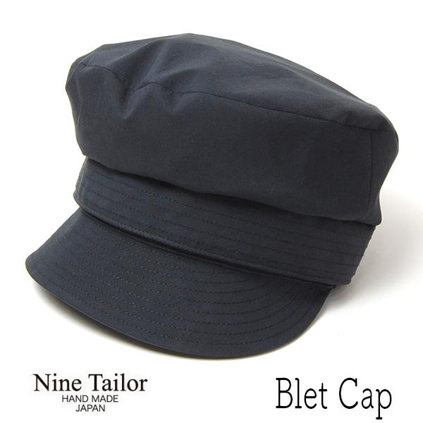 """NINE TAILOR(ナインテイラー)"" リネンキャスケット Bells Cap"