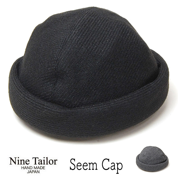 """NINE TAILOR(ナインテイラー)"" ドッカ―キャップ Seem Cap"