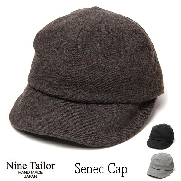 """""""NINE TAILOR(ナインテイラー)"""" リネンウールキャップ Senec Cap"""