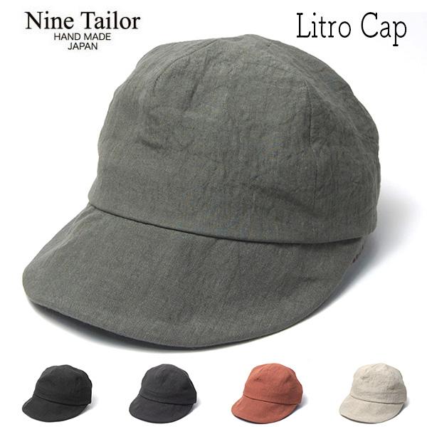 """NINE TAILOR(ナインテイラー)"" リネンキャップ Litro Cap"
