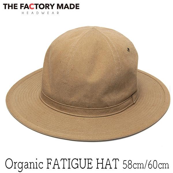 """""""THE FACTORY MADE(ザファクトリーメイド)"""" オーガニックコットンファティーグハット Organic FATIGUE HAT"""