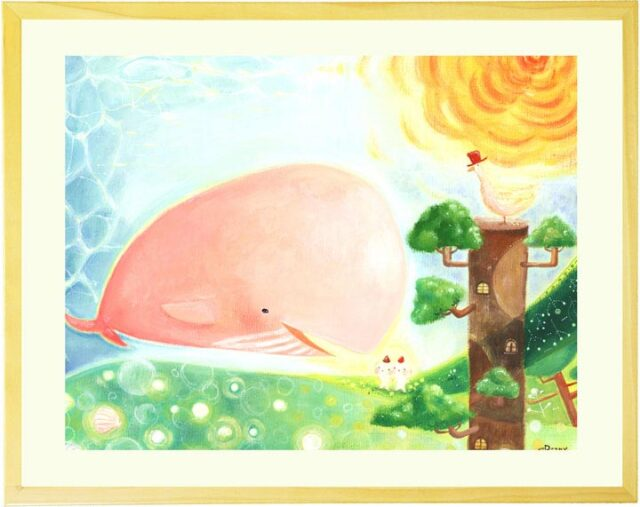 mini・ミニ 「大地の妖精と旅するクジラ」 (Denny Horimizu)