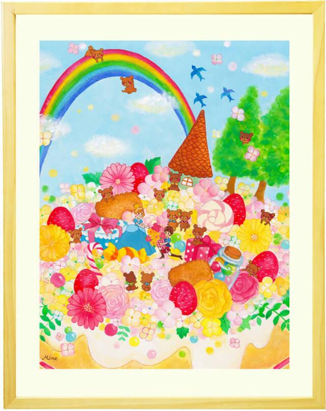 玄関・お祝い・結婚記念日プレゼント・結婚祝い・開店祝い向け絵画