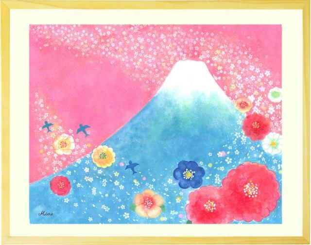 玄関や風水におすすめおしゃれな富士山の絵画