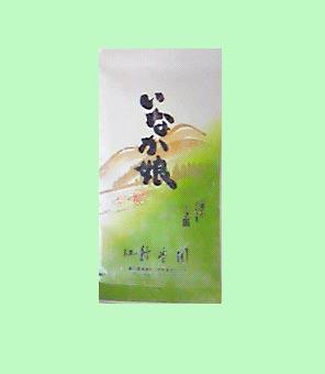<緑香園銘茶・いなか娘(荒造り)>100g