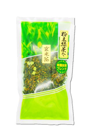 粉末緑茶入り玄米茶(100g入)