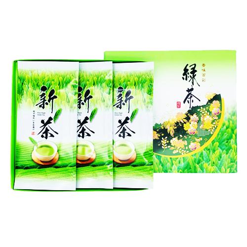 新茶平袋(80g入) 3本箱入