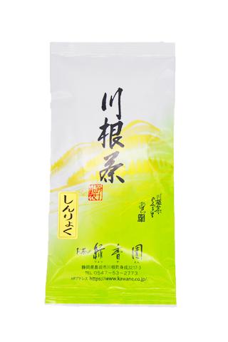 <緑香園銘茶・しんりょく>(新鮮緑豊かな味と香りが特徴です。)/100g