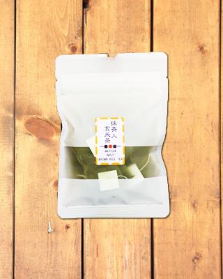 小さいサイズ!抹茶入玄米茶ティーバッグ(5g×5個)