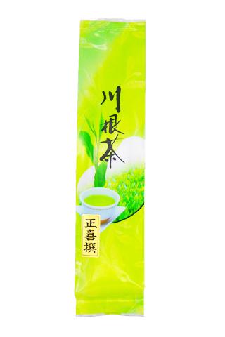 <緑香園銘茶・正喜撰>(一番茶と二番茶のブレンドです。力強い味が特徴です)/200g