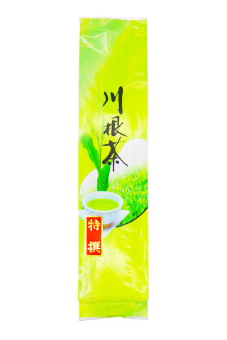 <緑香園銘茶・特選おおはしり>(手摘み特有の芳醇な香りと優しい甘味が特徴です。)/200g