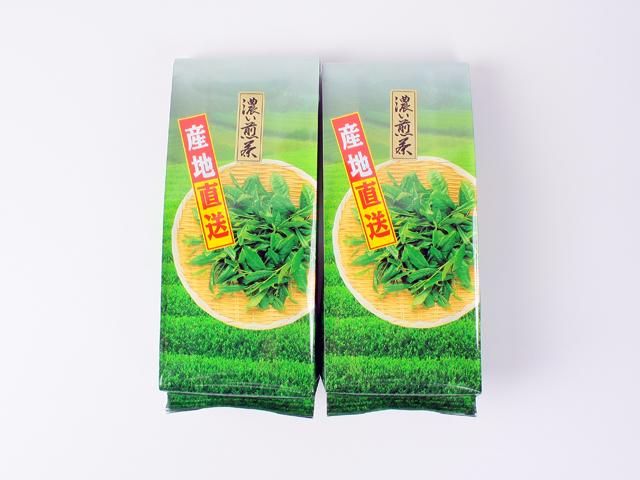 <送料込み>濃い味、濃い色「川根濃い煎茶」350g×2本