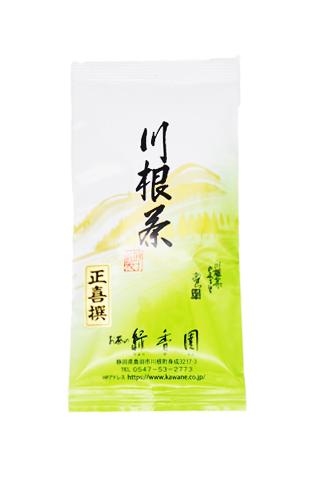 <緑香園銘茶・正喜撰>(一番茶と二番茶のブレンドです。力強い味が特徴です)/100g