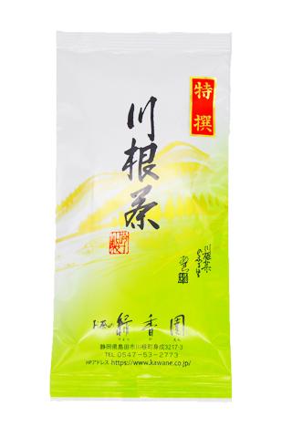<緑香園銘茶・特選おおはしり>(手摘み特有の芳醇な香りと優しい甘味が特徴です。)/100g
