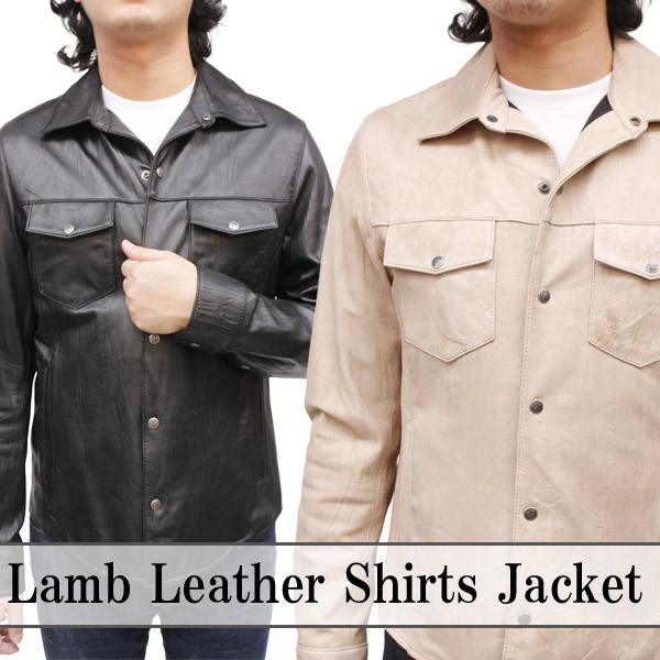 メンズ レザージャケット (レザーシャツ)3302