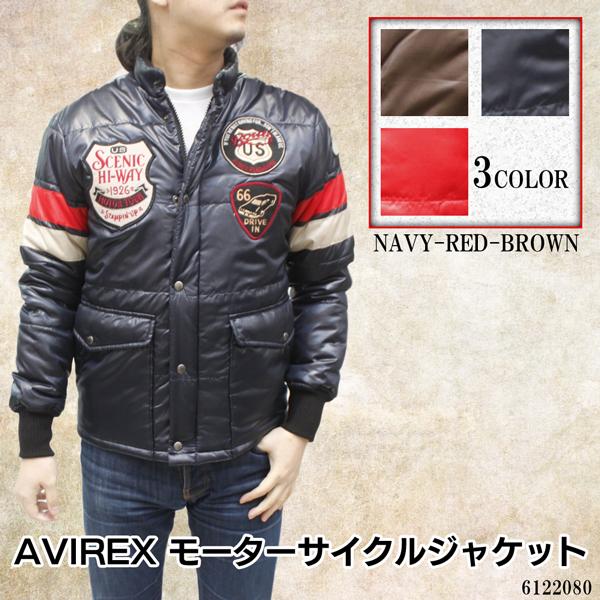 【メンズ AVIREXジャケット】AVIREX メンズ モーターサイクルジャケット 6122080《送料無料》