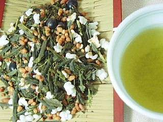 玄米茶50号 100g 国産緑茶