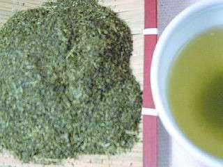 粉茶 50号 100g 国産緑茶