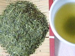 粉茶 80号 100g 国産緑茶