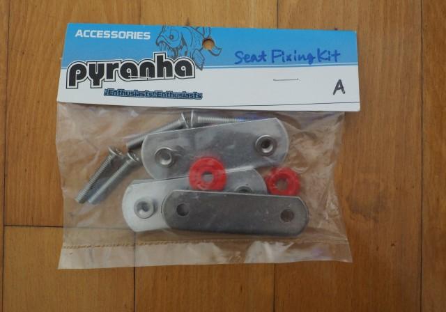 ピラニアスペアパーツ 【Seat Fitting Kit A】シートフィッティングキットA