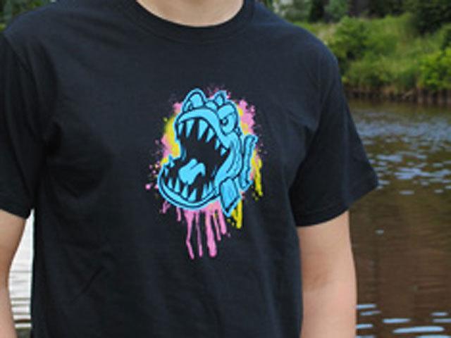 【ピラニア(Pyranha)】Tシャツ SPLAT