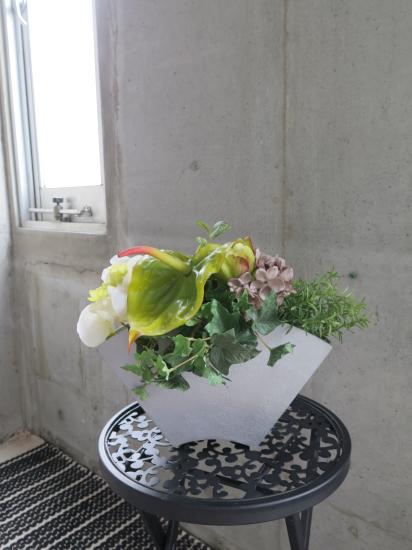 0500フェイクグリーン観葉植物ギフト アートフラワー グリーンアンス