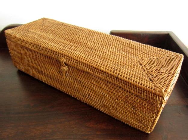 アタ製・ふた付きカトラリーボックス(28cm)AT070