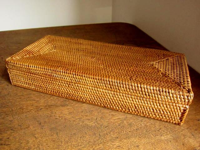 アタ製・ふた付きカトラリーケース(28cm/ふたが取り外せるタイプ)AT121
