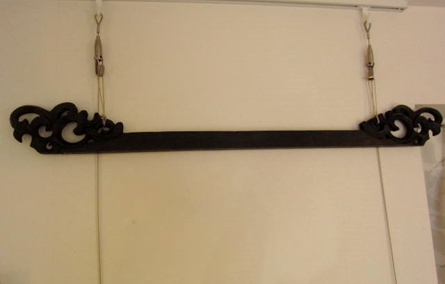 イカットハンガー(ブラック、70cm)IH002