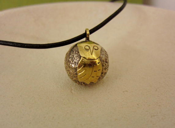 バリ島オウルハウス フクロウのガムランボール(OH001)