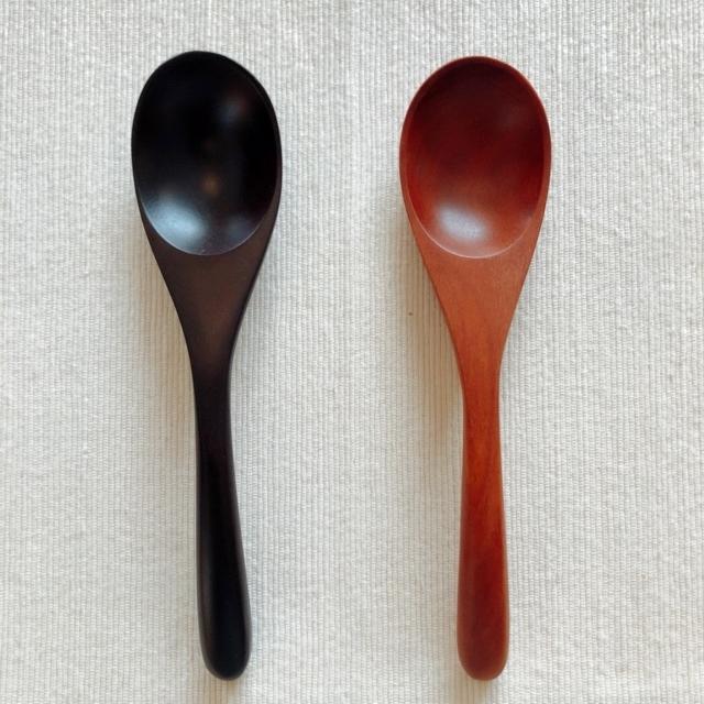 天然木・れんげスプーン(紫檀(したん)製/サウォ製)WT011