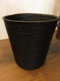黒アタ・バスケット(蓋無し・円筒形)AT054