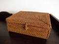 アタ製ふた付きレクト・長方形ボックス(プレーンタイプ)AT125