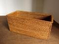 アタ製 ふた無し長方形ボックス/食パン入れ(約29×14×高さ13cm)AT147