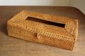 【アウトレット】アタ製・ティッシュボックスケース(模様入り)AT158a