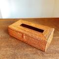 【アウトレット】アタ製・ティッシュボックス(27×13×高さ7cm)AT229a