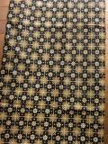 バティック・クロス(お花と格子柄/バティック・チャップ)BT071