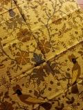 バティック・クロス(ソロ 小鳥と植物 プリントバティック)BT119