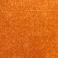 バティック・クロス(ジャワ更紗 バティック・チャップ/型押し染めバティック オレンジ・幾何学模様)BT142