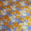 バティック・クロス(バティックチャップ(型押し染め)/バティックプカロンガン/パラン模様と植物)BT179