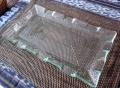 バリガラス フレアタイプのクリア・プレート(長方形)GS013
