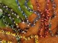 オウルハウス リサイクルガラス製ビーズネックレス(全6色)OH007
