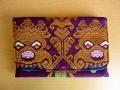 ソンケット(浮き織り)製 二つ折り財布C(ボマ)SK012