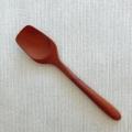 天然木・サウォ製スプーン アイスクリーム・プリン・ゼリー・ケーキ・デザート用スプーン(スコップ型・約12.5cm)WT015
